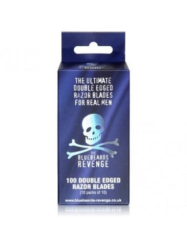 BLUEBEARDS REVENGE 100 DOUBLE EDGED RAZOR BLADES (10 PACKS OF 10)