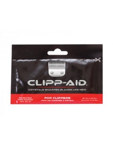 CLIPP-AID FOR CLIPPERS CRYSTALS SHARPEN BLADES LIKE NEW