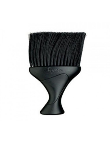 DENMAN D78 NECK DUSTER IN BLACK