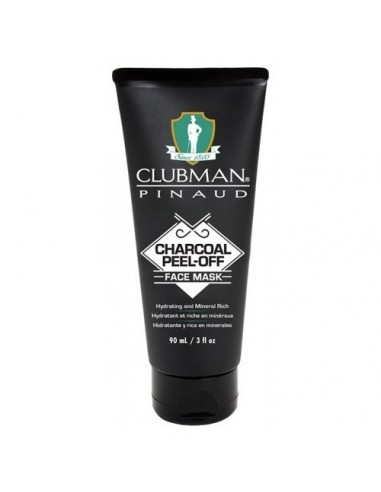 CLUBMAN PINAUD CHARCOAL PEEL OFF FACE MASK 90ML