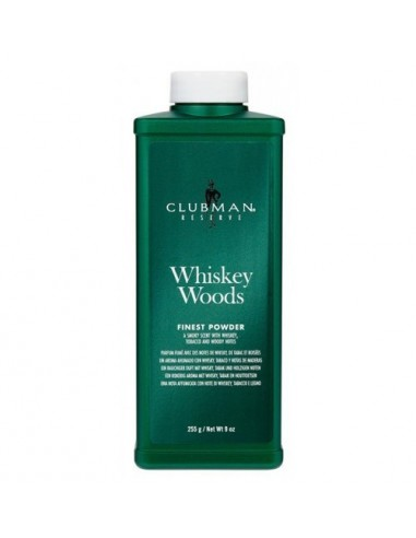 CLUBMAN RESERVE WHISKEY WOODS FINEST POWDER 255GR