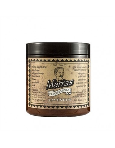 MARRAS SHAVING SOAP LAVENDER 125ML