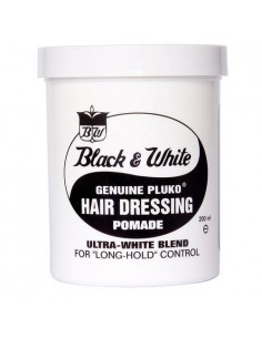 BLACK & WHITE HAIR DRESSING POMADE 200gr