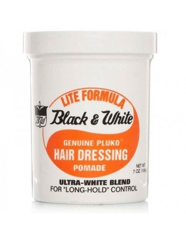 BLACK & WHITE HAIR LITE POMADE 200gr