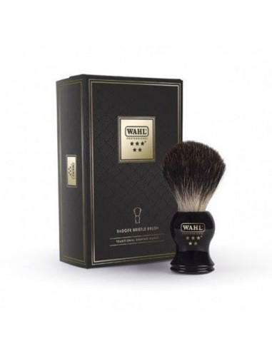 WAHL 5 STAR BADGER SHAVING BRUSH