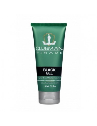 CLUBMAN PINAUD TEMPORARY COLOUR GEL BLACK - 89ML