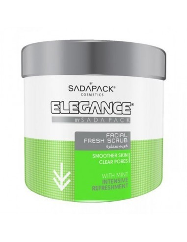 ELEGANCE FACIAL SCRUB WITH MINT EXTRACT 500ML (GREEN)