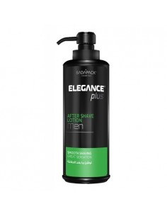 ELEGANCE PLUS AFTER SHAVE LOTION WITH MINT EXTRACT 500ML (GREEN)