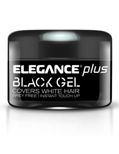 ELEGANCE PLUS BLACK GEL & COLOR  100ML