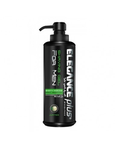ELEGANCE PLUS JUPITER SHAVING GEL WITH MINT EXTRACT 500ML (GREEN)