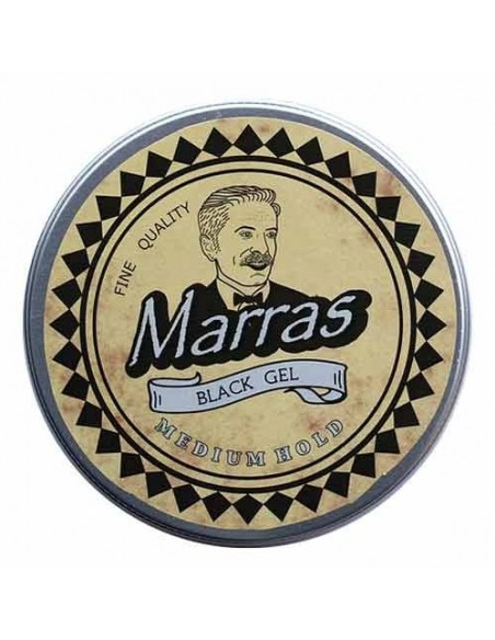 MARRAS BLACK GEL MEDIUM HOLD 100GR