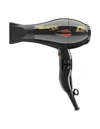 PARLUX 2200W ADVANCE LIGHT IONIC AND CERAMIC HAIR DRYER BLACK