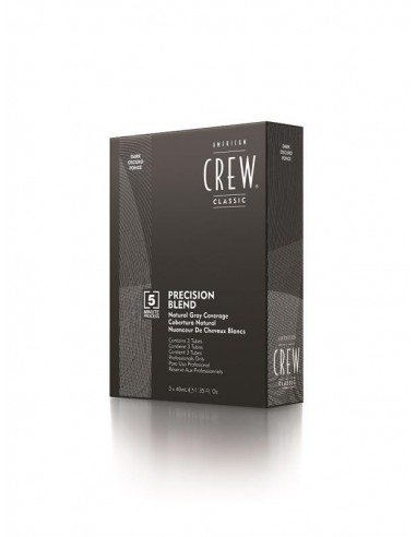 AMERICAN CREW PRECISION BLEND DARK (2-3) 3 X 40ML