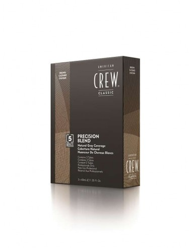 AMERICAN CREW PRECISION BLEND MEDIUM NATURAL (4-5)  3 X 40ML